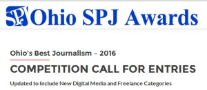 OhioSPJ 16 Call for Entries